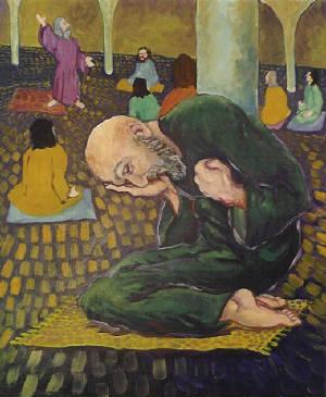 """Кристиан Дэр, """"Притча о мытаре и фарисее"""""""
