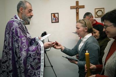 Посвящение в чин дев Ольги Тимофеевой