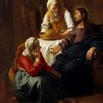 Вермеер. «Христос в доме Марфы и Марии»